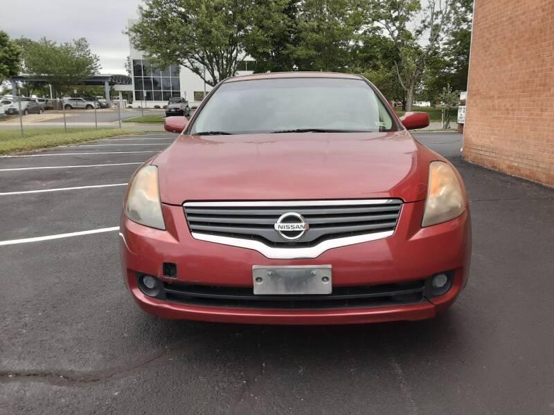2007 Nissan Altima for sale at Fredericksburg Auto Finance Inc. in Fredericksburg VA