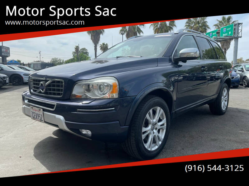 2013 Volvo XC90 for sale at Motor Sports Sac in Sacramento CA