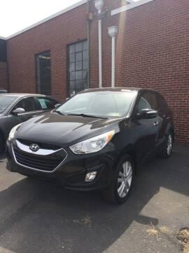 2012 Hyundai Tucson for sale at Village Auto Center INC in Harrisonburg VA
