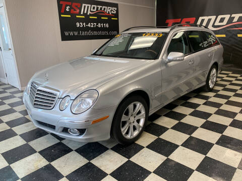 2009 Mercedes-Benz E-Class for sale at T & S Motors in Ardmore TN