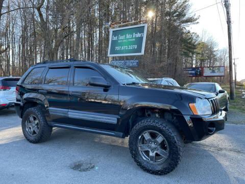 2006 Jeep Grand Cherokee for sale at East Coast Auto Brokers in Chesapeake VA