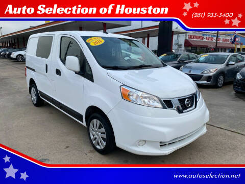 2016 Nissan NV200 for sale at Auto Selection of Houston in Houston TX