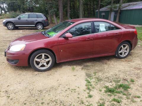 2009 Pontiac G6 for sale at Northwoods Auto & Truck Sales in Machesney Park IL