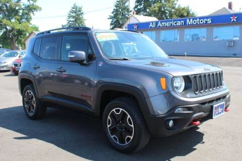 2016 Jeep Renegade for sale at All American Motors in Tacoma WA