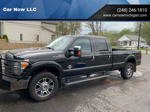 2014 Ford F-350 Super Duty for sale at Car Now LLC in Madison Heights MI