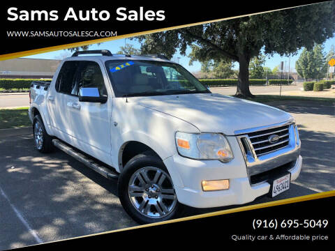 2008 Ford Explorer Sport Trac for sale at Sams Auto Sales in North Highlands CA