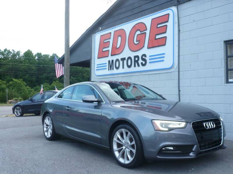 2013 Audi A5 for sale at Edge Motors in Mooresville NC