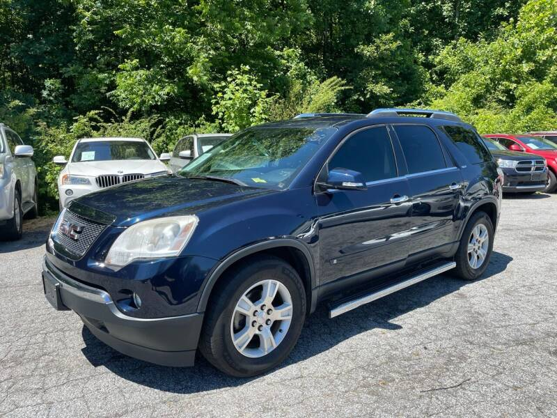 2009 GMC Acadia for sale at Car Online in Roswell GA