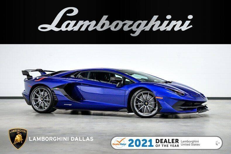 2020 Lamborghini Aventador for sale in Richardson, TX