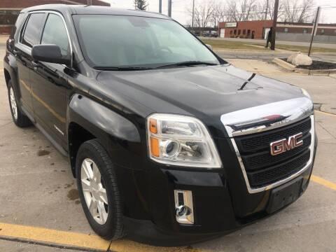 2012 GMC Terrain for sale at City Auto Sales in Roseville MI