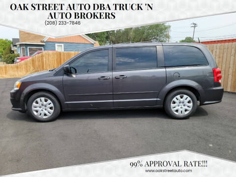2015 Dodge Grand Caravan for sale at Oak Street Auto DBA Truck 'N Auto Brokers in Pocatello ID