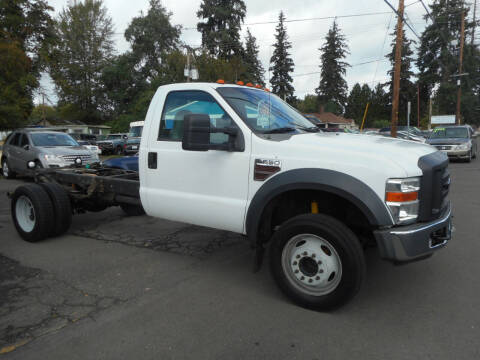 2008 Ford F-550 Super Duty for sale at Lino's Autos Inc in Vancouver WA