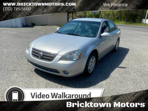 2004 Nissan Altima for sale at Bricktown Motors in Brick NJ