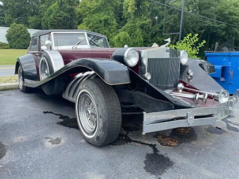 1932 Duesenburg Convertable  for sale at Bi Rite Auto Sales in Seaford DE