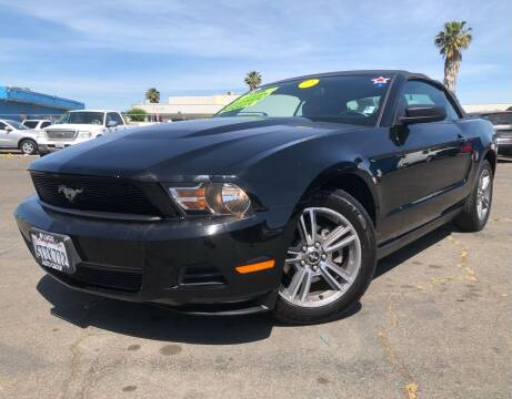 2010 Ford Mustang for sale at LUGO AUTO GROUP in Sacramento CA