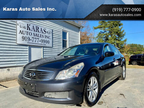 2009 Infiniti G37 Sedan for sale at Karas Auto Sales Inc. in Sanford NC