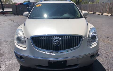 2012 Buick Enclave for sale at Pay Less Auto Sales Group inc in Hammond IN