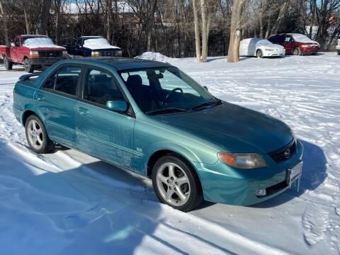 2001 Mazda Protege for sale at Kansas Car Finder in Valley Falls KS
