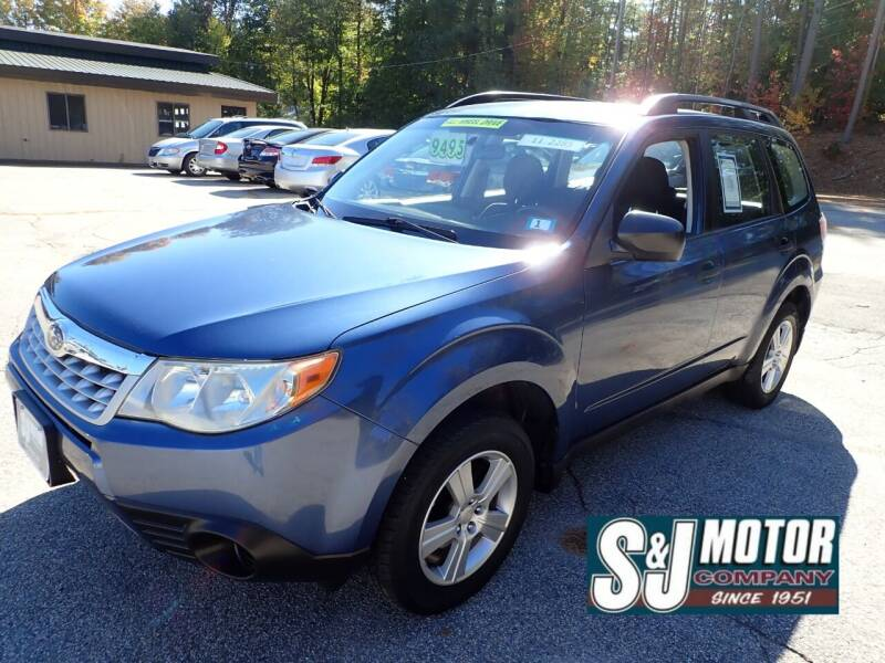 2011 Subaru Forester for sale at S & J Motor Co Inc. in Merrimack NH