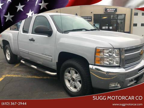 2013 Chevrolet Silverado 1500 for sale at Sugg Motorcar Co in Boyertown PA