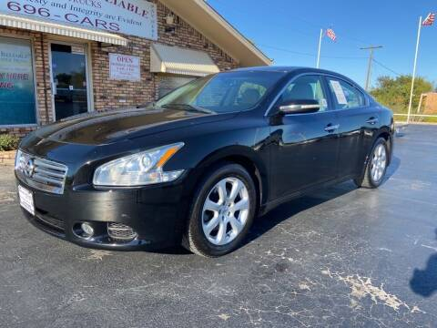 2012 Nissan Maxima for sale at Browning's Reliable Cars & Trucks in Wichita Falls TX
