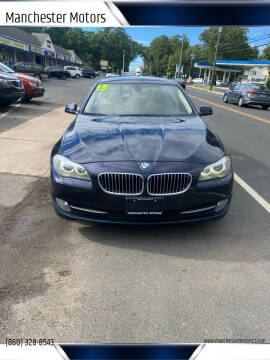 2013 BMW 5 Series for sale at Manchester Motors in Manchester CT