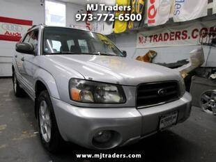 2004 Subaru Forester for sale at M J Traders Ltd. in Garfield NJ
