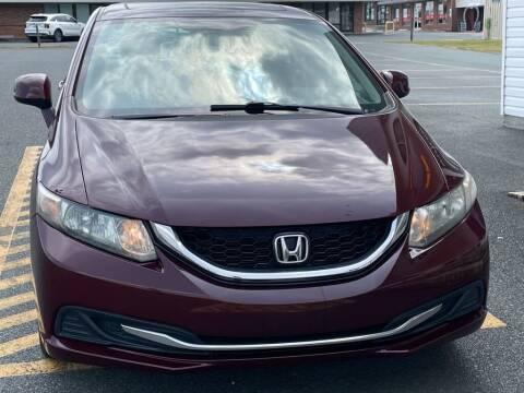 2013 Honda Civic for sale at Auto America - Monroe in Monroe NC
