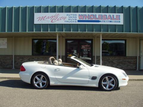 2005 Mercedes-Benz SL-Class for sale at Magic City Wholesale in Minot ND