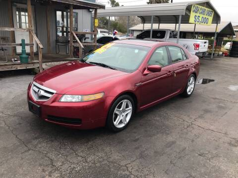 2004 Acura TL for sale at Texas 1 Auto Finance in Kemah TX