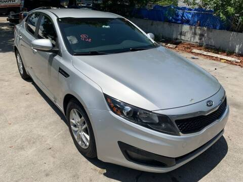 2013 Kia Optima for sale at Eden Cars Inc in Hollywood FL