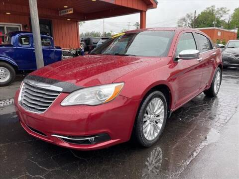 2012 Chrysler 200 for sale at HUFF AUTO GROUP in Jackson MI