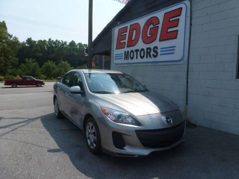 2013 Mazda MAZDA3 for sale at Edge Motors in Mooresville NC