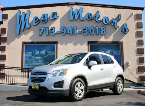 2015 Chevrolet Trax for sale at MEGA MOTORS in South Houston TX