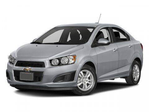 2016 Chevrolet Sonic for sale at HILAND TOYOTA in Moline IL