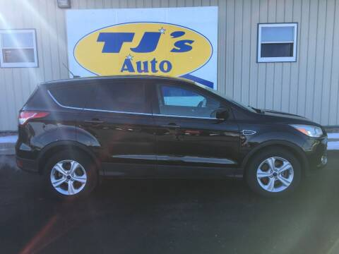 2014 Ford Escape for sale at TJ's Auto in Wisconsin Rapids WI