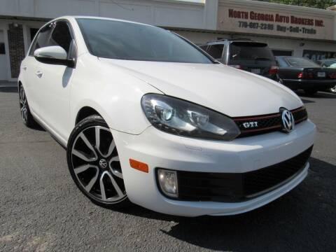 2012 Volkswagen GTI for sale at North Georgia Auto Brokers in Snellville GA