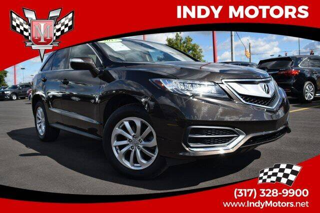 2017 Acura RDX for sale at Indy Motors Inc in Indianapolis IN