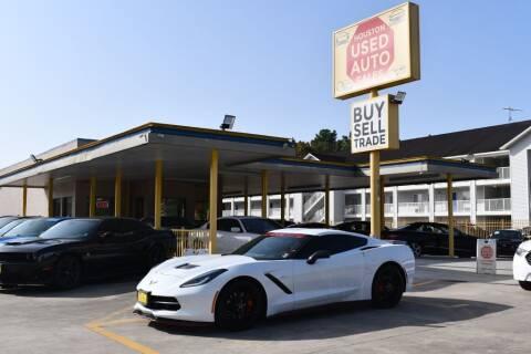 2015 Chevrolet Corvette for sale at Houston Used Auto Sales in Houston TX