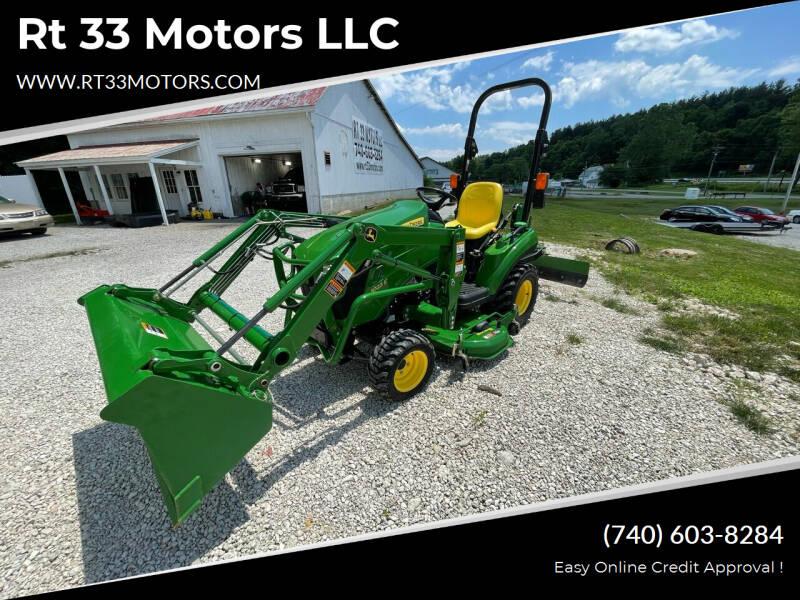 2015 John Deere 1023E for sale at Rt 33 Motors LLC in Rockbridge OH
