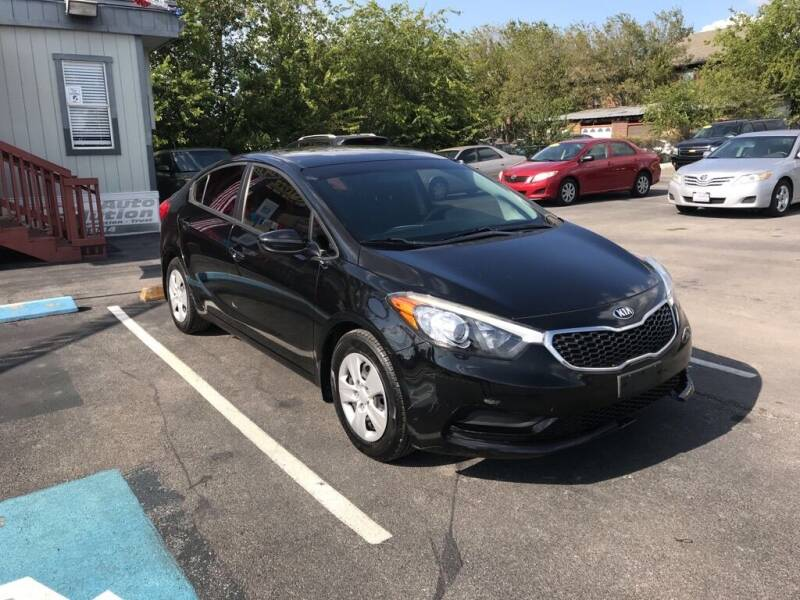 2016 Kia Forte for sale at Auto Solution in San Antonio TX