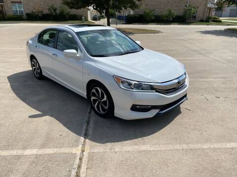2016 Honda Accord for sale at GT Auto in Lewisville TX
