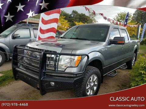 2013 Ford F-150 for sale at Classic Auto in Greeley CO