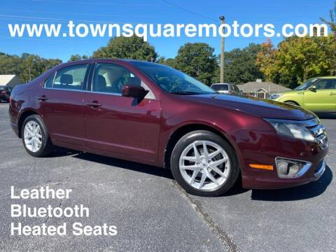 2012 Ford Fusion for sale at Town Square Motors in Lawrenceville GA