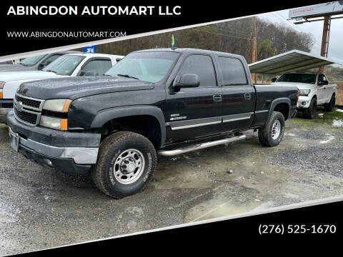 2006 Chevrolet Silverado 2500HD for sale at ABINGDON AUTOMART LLC in Abingdon VA
