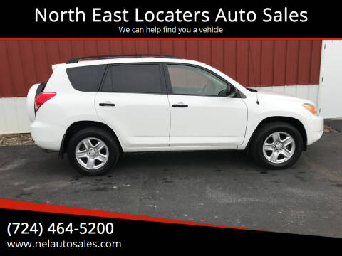 2008 Toyota RAV4 for sale at North East Locaters Auto Sales in Indiana PA