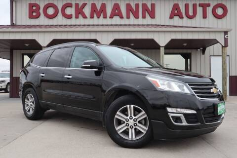 2016 Chevrolet Traverse for sale at Bockmann Auto Sales in St. Paul NE