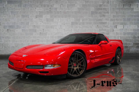 2003 Chevrolet Corvette for sale at J-Rus Inc. in Macomb MI