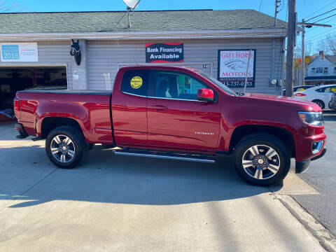 2018 Chevrolet Colorado for sale at Grey Horse Motors in Hamilton OH