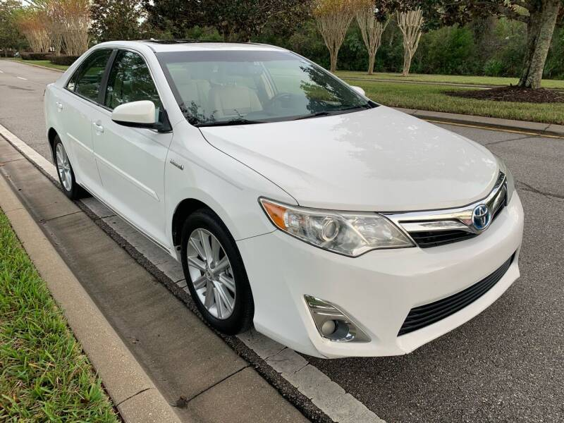 2013 Toyota Camry Hybrid for sale at Perfection Motors in Orlando FL